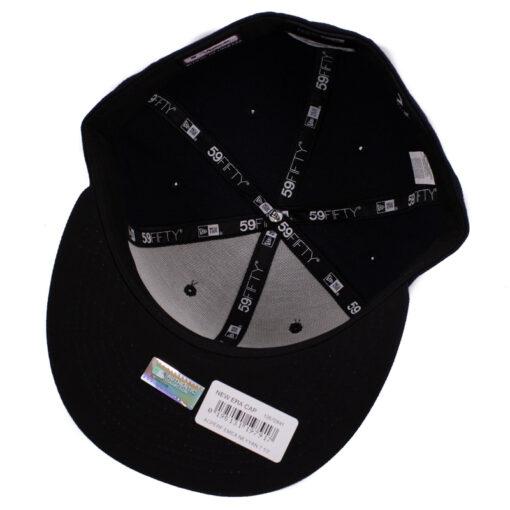 New era New york svart fitted keps