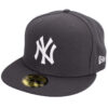 New era New york yankees grå fitted keps