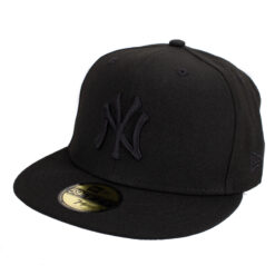 New era New york yankees svart fitted keps