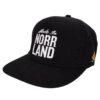 Keps Sqrtn Made in Norrland Snapback svart