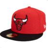 New Era Chicago Bulls NBA fitted röd/svart New era