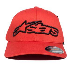 Alpinestars Blaze Flexfit röd keps flexfit