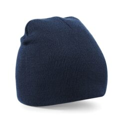 Beechfield - Beanie Knitted Hat French Navy - mössa