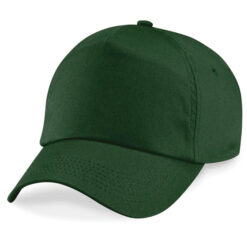 Beechfield - Junior Original 5 panel keps, grön