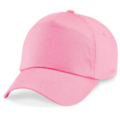 Beechfield - Junior Original 5 panel keps, rosa