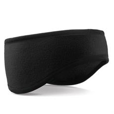Beechfield - Suprafleece Aspen Headband - Svart pannband