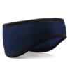 Beechfield - Suprafleece Aspen Headband - Mörkblått pannband