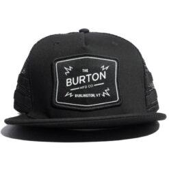 Snapback/trucker Burton Bayonette Svart