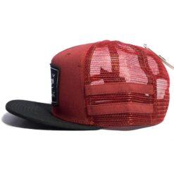 Snapback/trucker Burton Bayonette röd