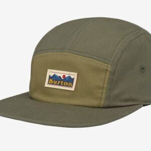 Burton Cordova Dusty Olive 5 panel keps