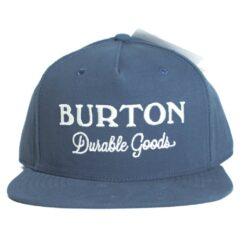 Burton Durable Good blå snapback keps