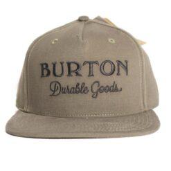 Burton Durable Good brungrön snapback keps