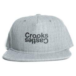 Crooks and Castle Opposite Grå grey snapback