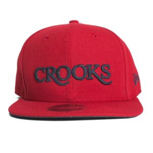 Crooks and Castle Serif new era röd 2017