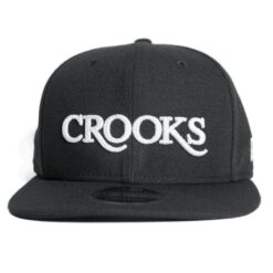 Crooks and Castle Serif new era svart 2017