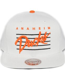 Anaheim Ducks NHL keps Vit Mitchell and ness