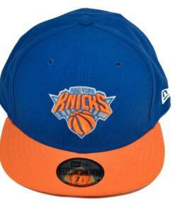 Fitted Keps New Era New York Knicks blå