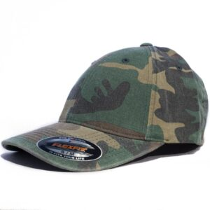 Flexfit Camo grön kamouflage