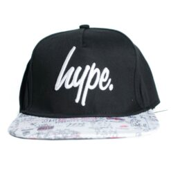 Hype Snapback Illustrated svart keps