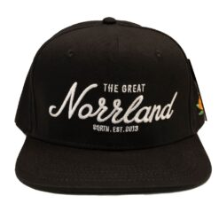 Snapback SQRTN The Great Norrland Svart