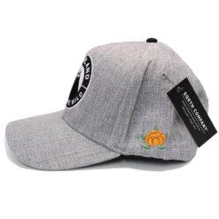 Snapback SQRTN Into emblem cap grå