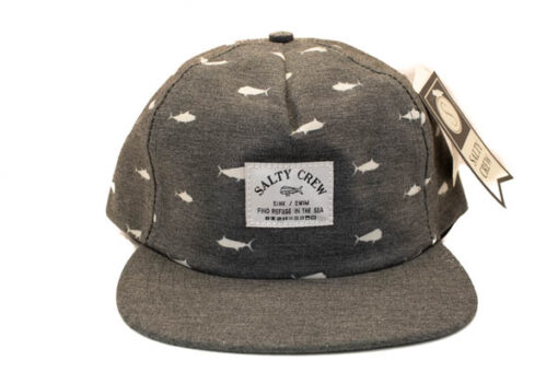Salty Crew - Bimini Two Tone 6 panel - Svart - Fram