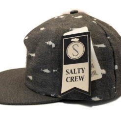 Salty Crew - Bimini Two Tone 6 panel - Svart - Sida