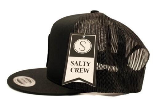Salty Crew - Bruce trucker - Svart - Sida