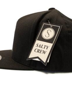 Salty Crew -Softshell 6 Panel - Svart - Sida