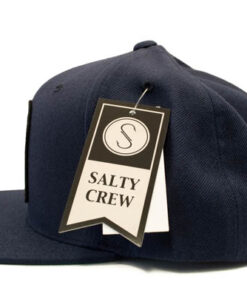 Salty Crew - Bugging out 6 Panel - Navy - Sida