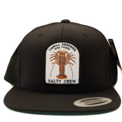 Salty Crew - Bugging out 6 panel - Svart - Fram