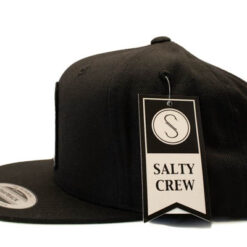 Salty Crew - Bugging out 6 panel - Svart - Sida
