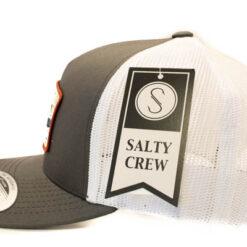 Salty Crew - Frenzy Retro trucker - Mörkgrå vit - Sida