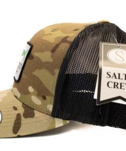 Salty Crew - MAHI Mount Retro Trucker - Cam - Sida