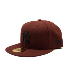 New Era 59fifty fitted keps vinröd Fitted new york yankee
