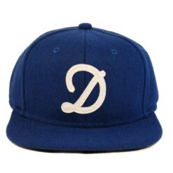 Dedicated snapback keps blå fils