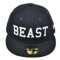 The Beast Keps new era mörkblå fitted