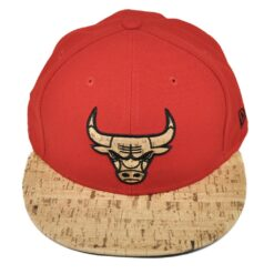 Krok röd keps chicago bulls new era fitted