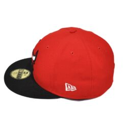 New Era Chicago Bulls NBA fitted röd/svart New era
