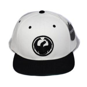 Keps dragon vit och svart