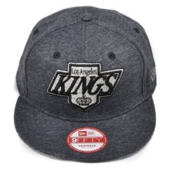 Los angeles kings grå melerad keps new era snapback