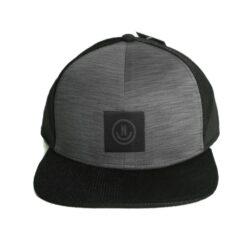 Neff Neezy Trucker Cap grå svart rak skärm