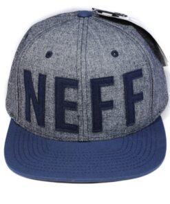 Keps Neff Mörkblå skärm snapback