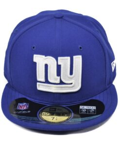 New Era Giants New york Blå fitted keps