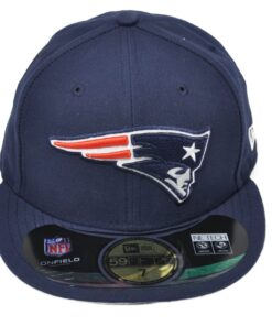 New England Patriots New Era keps fitted mörkblå