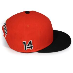 JW Snapback - Röd/Svart Red/Black