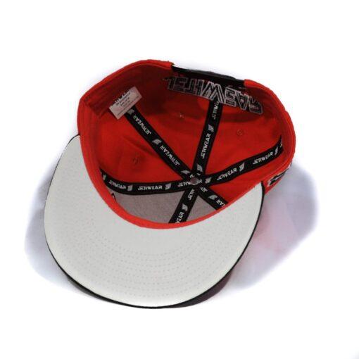 Keps Jethwear röd svart