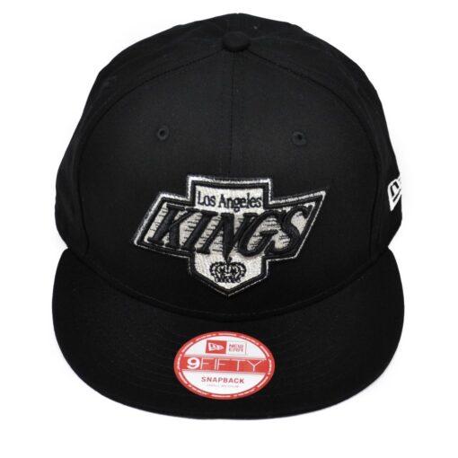 Los Angeles kings svart snapback keps new era