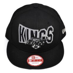 Los Angeles Kings svart keps new era