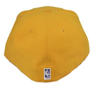 Keps New Era Los Angeles Lakers gul fitted